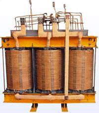 Power transformer winding