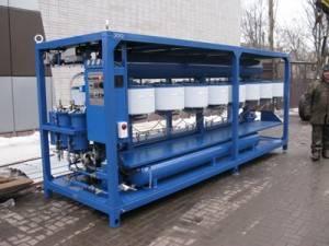 Transformer oil regeneration plant UVR by PC GlobeCore production