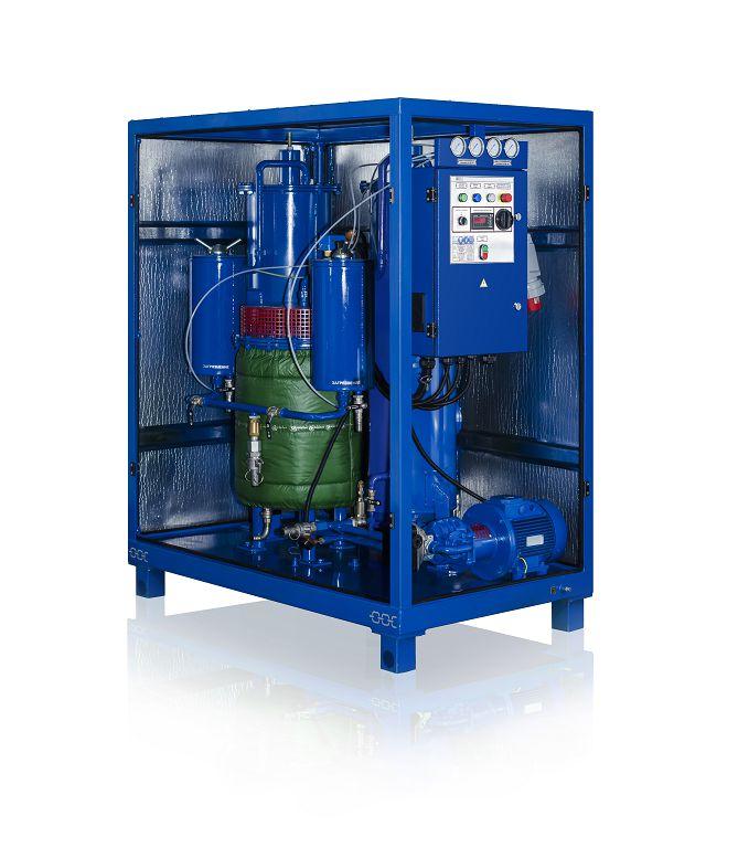 Zeolite drying system