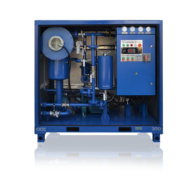 Cmm 4 Mobile Oil Plant Fuel Cleaning Equipment