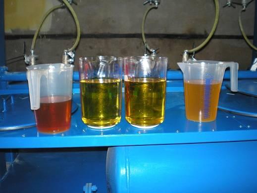 Regenerated oils